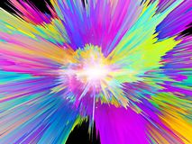 Color Burst Royalty Free Stock Photography