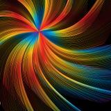 Color Burst Swirl Stock Photo