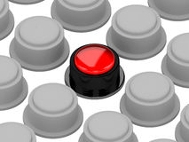 The color button Stock Photo