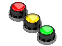 The color button Royalty Free Stock Photo