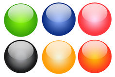 Color button Stock Photo