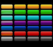 Color button Stock Photos