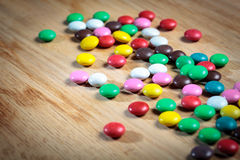 Color button candies Stock Image