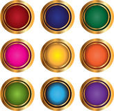 Color buttons Royalty Free Stock Image