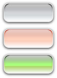 Color buttons Stock Images