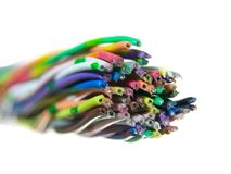 Color cable Royalty Free Stock Image