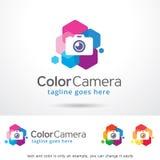 Color Camera Logo Template Design Vector Royalty Free Stock Photos
