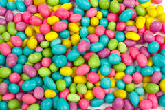Color candies beans background Stock Photography