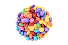 Color candy background Stock Images