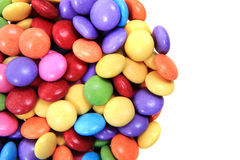 Color candy background Stock Photos