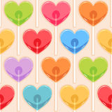 Color candy hearts Royalty Free Stock Photo