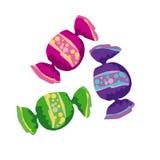Color candy Stock Photos