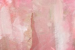 Colored canvas with oil paints Royalty Free Stock Images