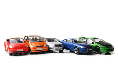 Color car toys Stock Photography