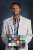 Color Card royalty free stock photos