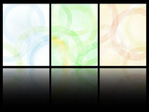 Color card designs Stock Images