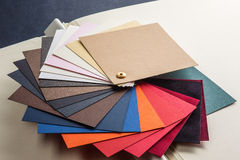 Color cards Royalty Free Stock Images