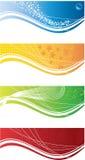 Color cards vector Royalty Free Stock Photos