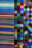 Color carpets Stock Image