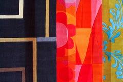 Color carpets stock photo