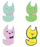 Color cats Royalty Free Stock Image