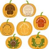 Color celebratory logo, turkey bird Stock Photo