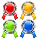 Color certificates Royalty Free Stock Images