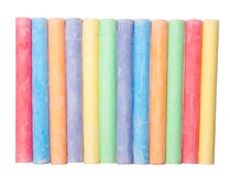 Color chalk Royalty Free Stock Images