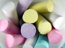 Color chalk. Chalk stock photos