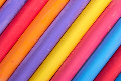 Color chalk abstract composition Royalty Free Stock Photography