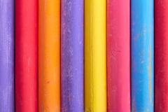Color chalk abstract composition upright stock images