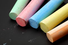 Color chalks Royalty Free Stock Photo