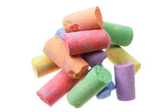 Color Chalks Stock Photography