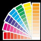 Color chart 2 Royalty Free Stock Photography