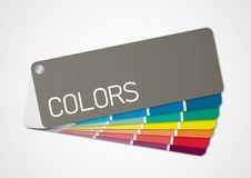 Color chart 2 vector illustration