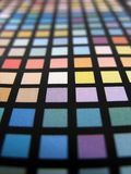 Color Chart 2. Color selection chart close up stock image