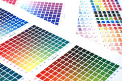 Color Chart Royalty Free Stock Image