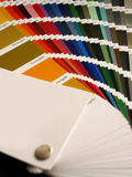 Color chart. For interior design royalty free stock photos