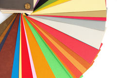 Color chart. Paper color chart background. Different weights and colors of printing paper stock images