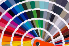 Color chart Royalty Free Stock Photo