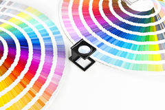 Color charts Stock Photos