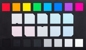 Color checker Royalty Free Stock Photography