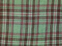 Color checkered on fabric, background Stock Images
