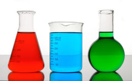 Color chemistry Royalty Free Stock Images