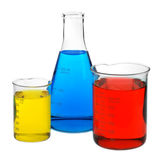 Color chemistry Stock Images
