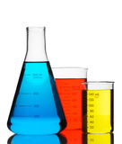 Color chemistry Royalty Free Stock Photo