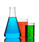 Color chemistry Royalty Free Stock Photos