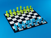 Color Chess Board Royalty Free Stock Images