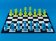 Color Chess Board Royalty Free Stock Image