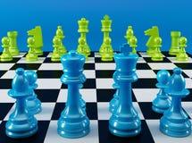 Color Chess Board Stock Image
